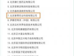 第零农场凭智慧物流成为北京市生鲜农产品物流标准化试点单位