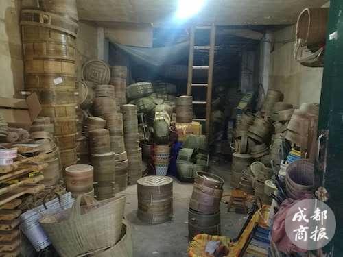 蒸笼、箩筐、筲箕…… 6旬老人淘宝店卖竹编 1年销售竟达200万