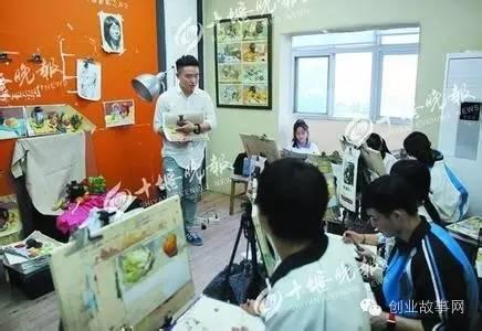 大二学生创办画室 <a href=https://www.zhifujing.org/gushi/ target=_blank class=infotextkey>创业</a>半年收入10万元