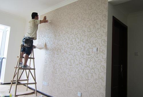 墙纸经营与室内装修